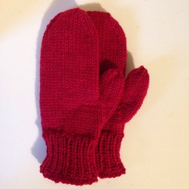 Finished Mittens