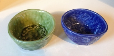 Pinch pots (the first projects)