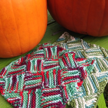 A couple of dish cloths