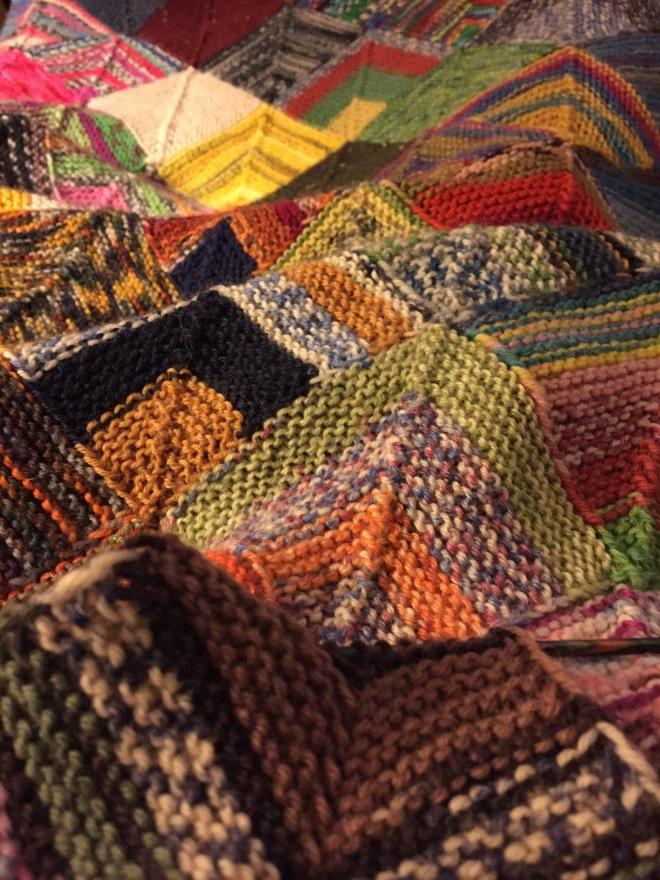 Sock Yarn BlanketContinues