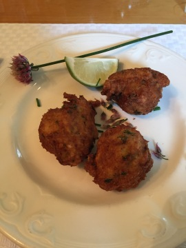 Crab Fritters
