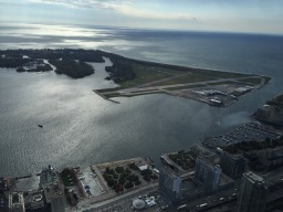 Billy Bishop City Airport from CN Tower
