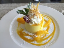 Cheesecake from CN Tower Restaurant