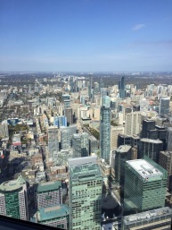 From CN Tower Restaurant. What a great experience (much different than at 12)