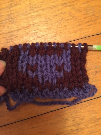 Alien-like double knit cat