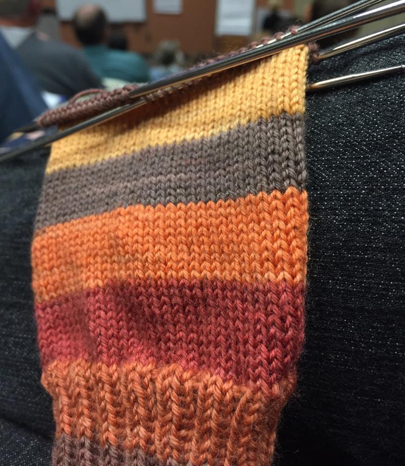Sock 1 in St. Andrews