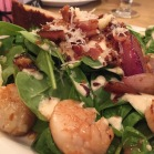 Scallop salad with bacon. Need I say more. (PJ Billington's in St. John's)