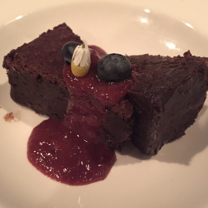 Chocolaty goodness for dessert at Portabellos in St. John's