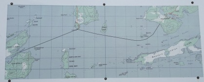 Ferry Route Map