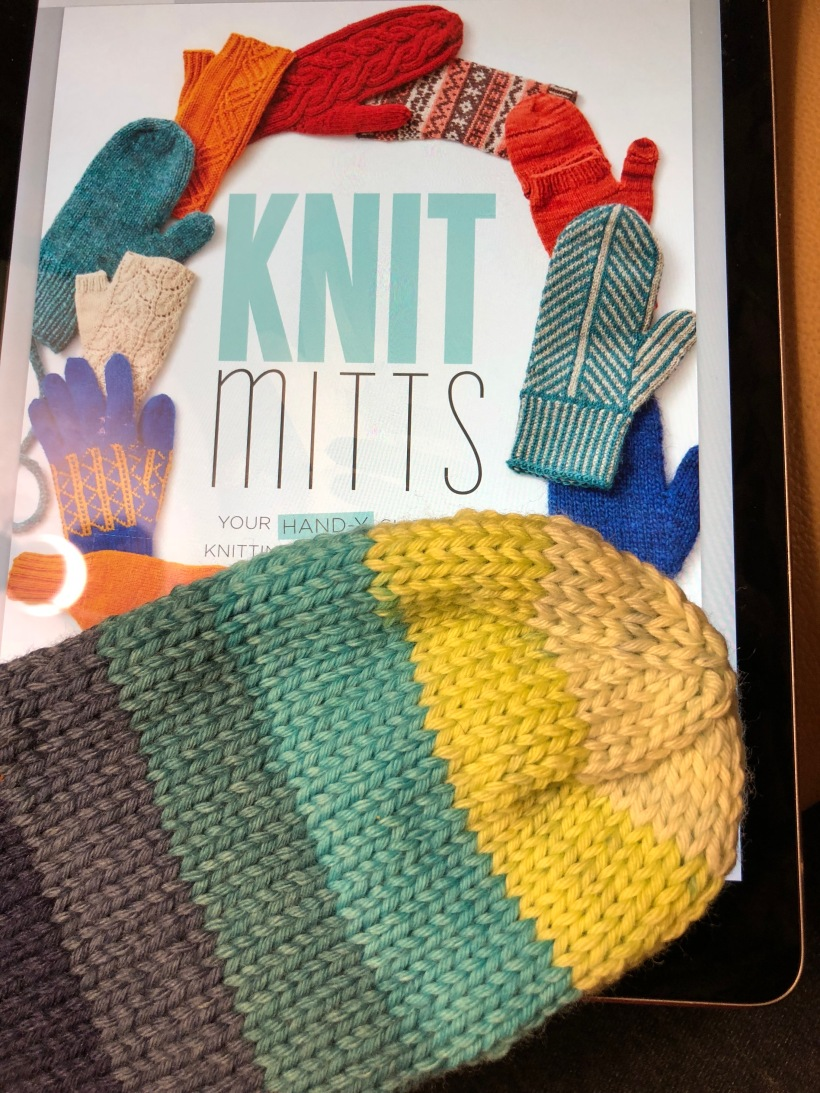 Kate Atherley Knit Mitts