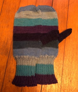 Knit Picks Felici Worsted mittens