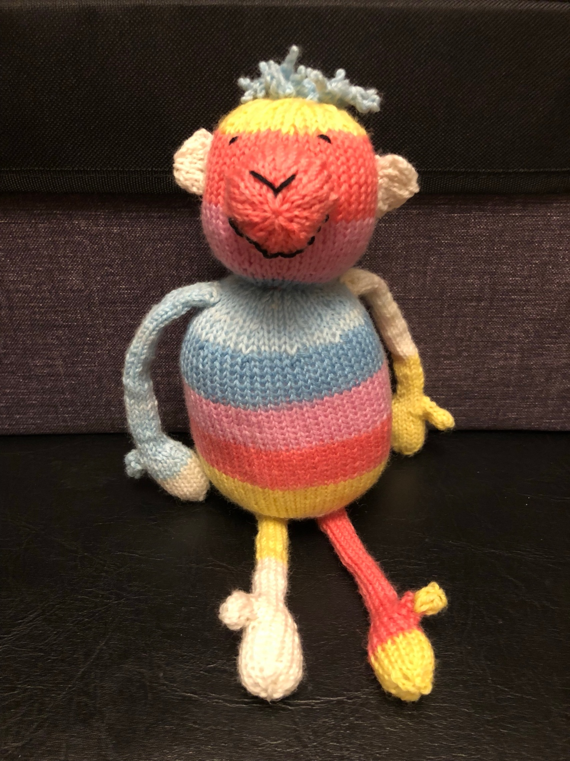 Striped Sock Monkey