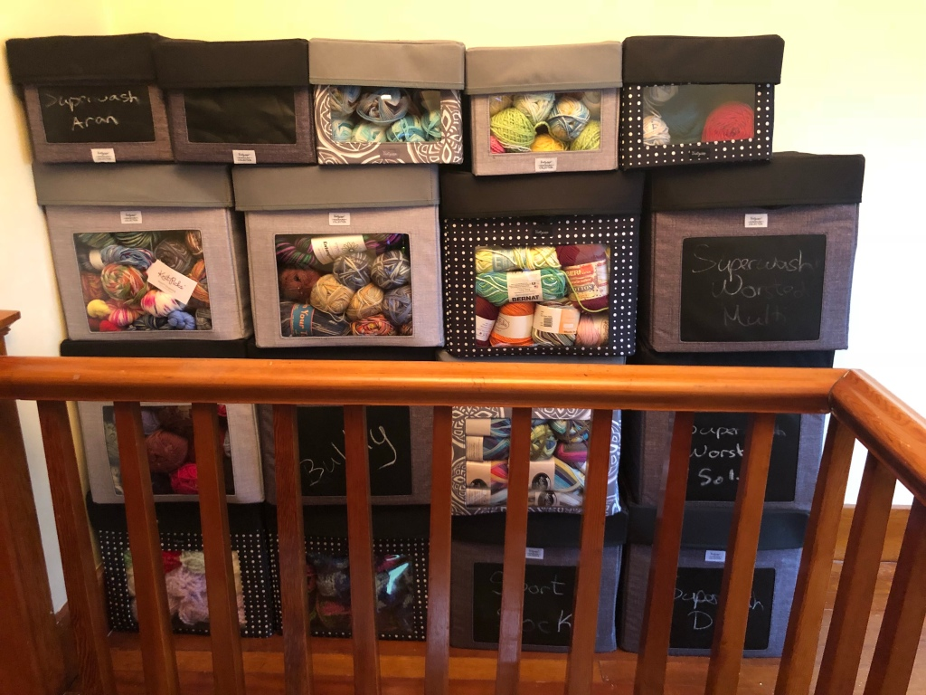 thirty one gifts storage cubes of yarn